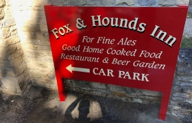 Fox-Hounds-Inn-Barker-Sign-Services-On-Post-Signs-67