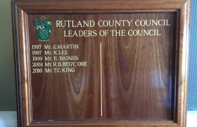 Rutland-County-Council-Leaders-Of-The-Council-Barker-Sign-Services-Honours-Boards-5_